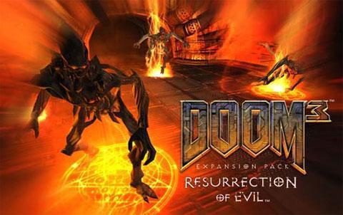 Скачать DooM 3 + Resurrection of Evil [1.3.1] [High-Definition Mod 1.2] (2004-2011) на pc бесплатно