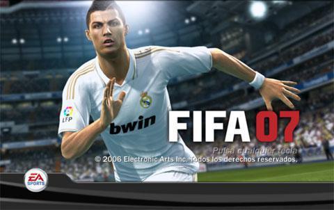FIFA 07 — Российская Лига+русский язык