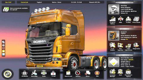 Скачать Euro Truck Simulator 2 бесплатно на пк с торрента 2019 года