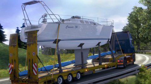 Скачать Euro Truck Simulator 2 с 65 взломанными DLC