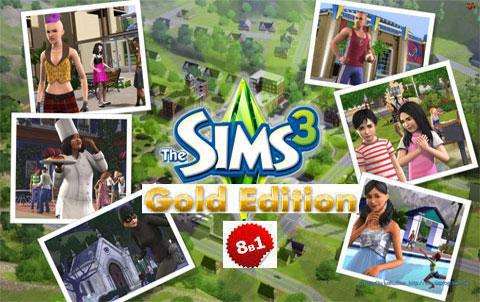 The Sims 3. Gold Edition (2009 - 2013) от Fenixx