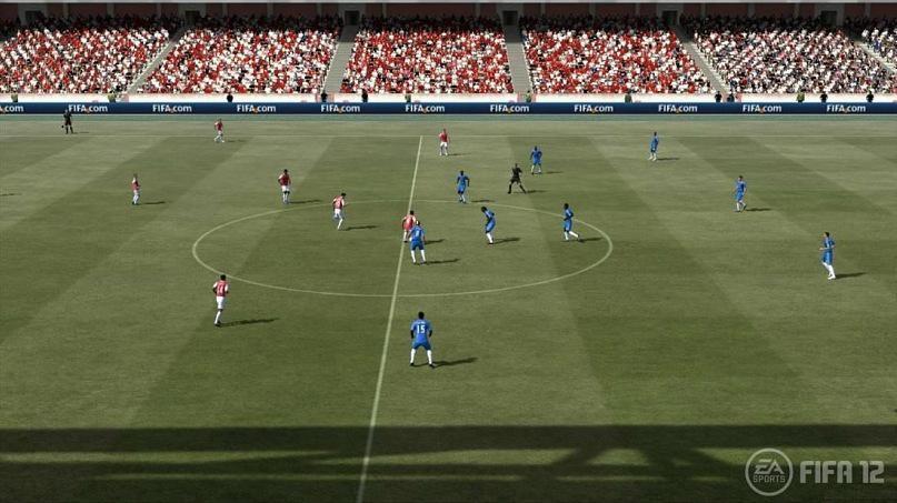 Скачать футбол на компьютер бесплатно фифа 12
