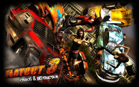 Скачать на русском FlatOut 3: Chaos & Destruction через торрент