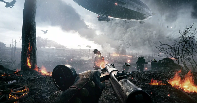 battlefield 1 gameplay скачать