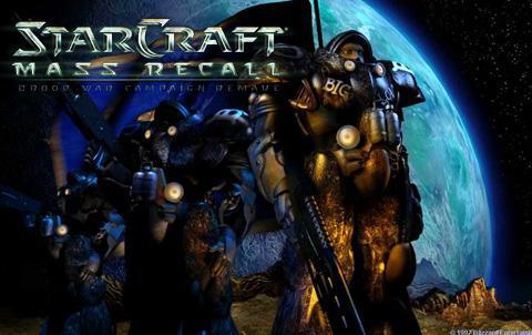 Скачать Starcraft Mass Recall торрентом на русском