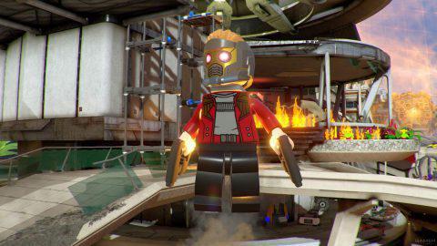 Скачать бесплатно LEGO Marvel Super Heroes 2