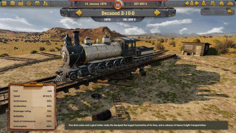 Railway Empire скачать на компьтер