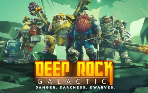 Deep Rock Galactic PC game