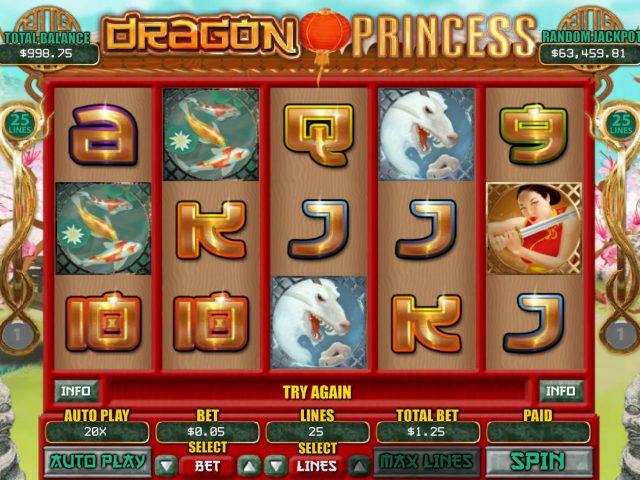 Слот Dragon Princess