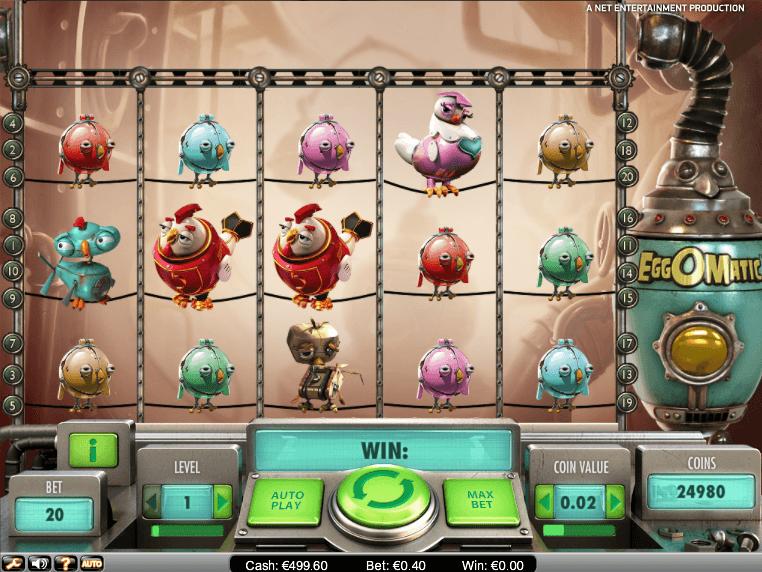Обзор игрового автомата Eggomatic
