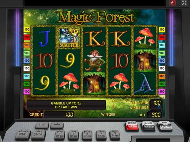 Волшебный слот Magic Forest