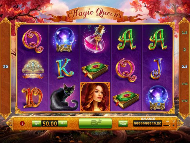 Изображение игрового автомата Magic Queens