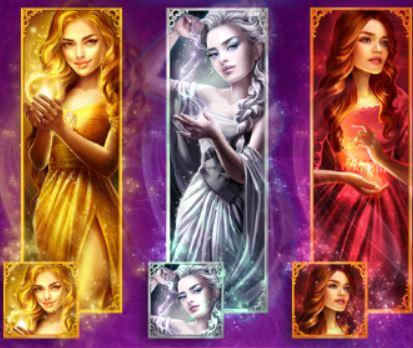 Дикие символы слота Magic Queens