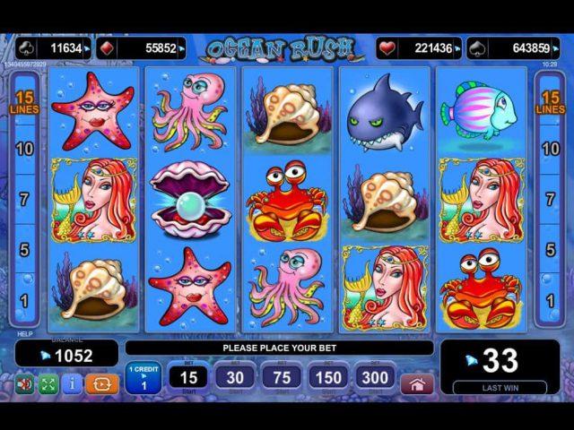 Ocean Rush игровой автомат