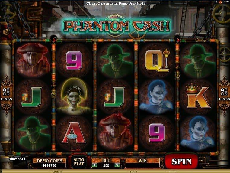 Phantom Cash игровой автомат
