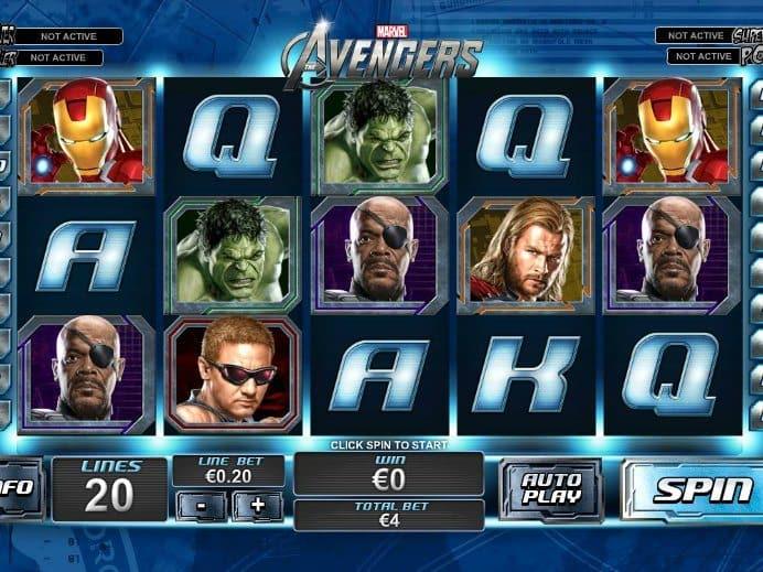 Игровой автомат The Avengers (Мстители)