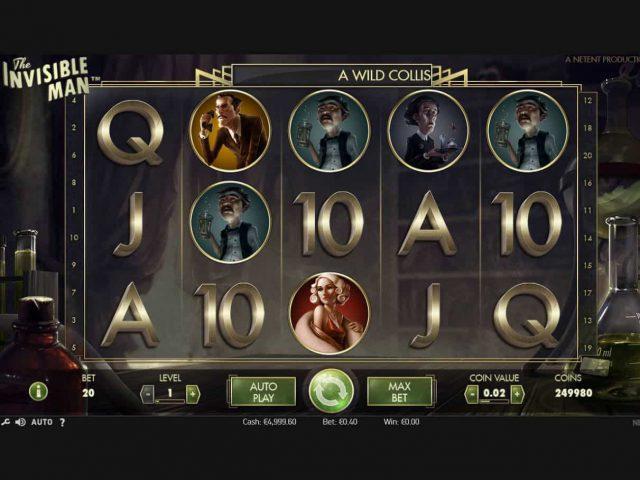 The Invisible Man игровой автомат