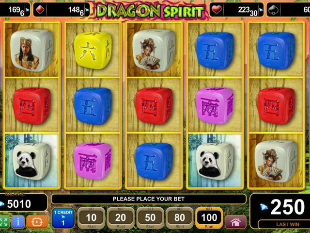 Игра в слот Dragon Spirit