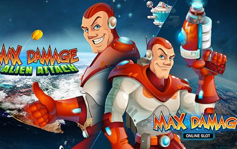 Max Damage and the Alien Attack - Обзор бесплатного игрового автомата от онлайн клуба Вулкан