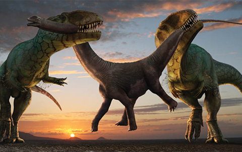 Игровой автомат Рассвет динозавров в казино Вулкан Удачи - Обзор онлайн-слота