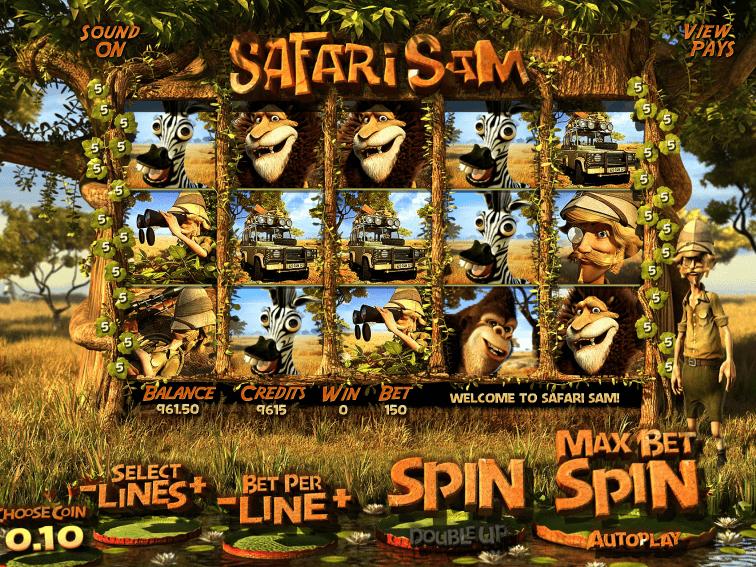 Слот Safari Sam