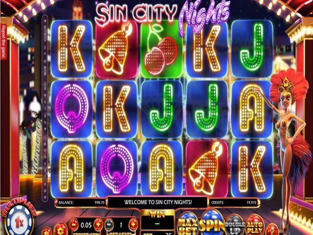 Sin City Nights игровой автомат