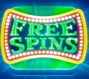 Значок бесплатных спинов игрового автомата Sin City Nights