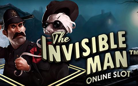 Пройди путь человека-невидимки с игровым автоматом на деньги The Invisible Man!