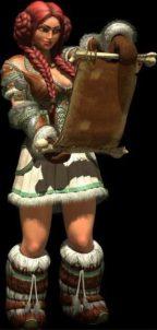 Девушка-викинг Амма