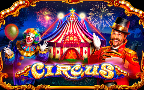 Цирковой игровой автомат Circus Brilliant в казино Фараон