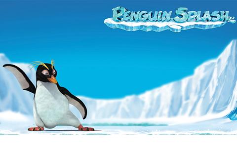Слот про арктических животных Penguin Splash в казино Вулкан
