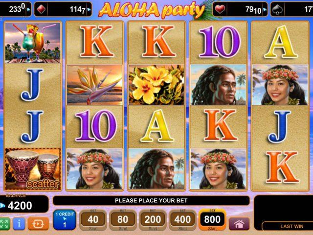Слот Aloha Party