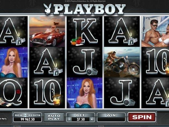 Playboy игровой автомат в казино Вулкан 24