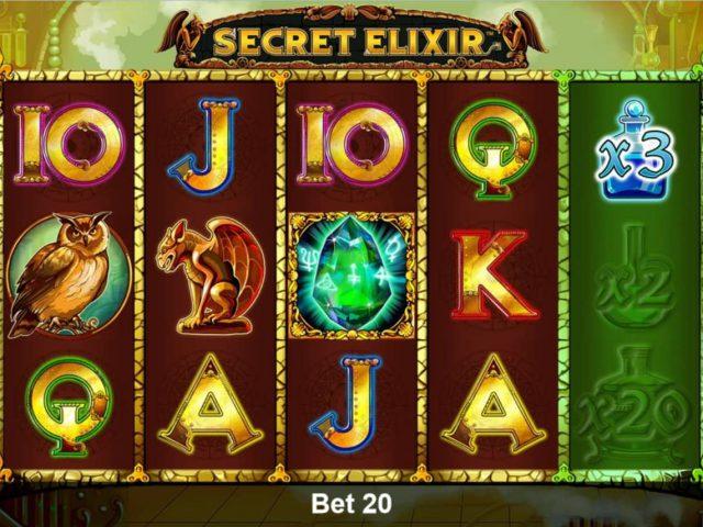 Слот Secret Elixir в казино Адмирал