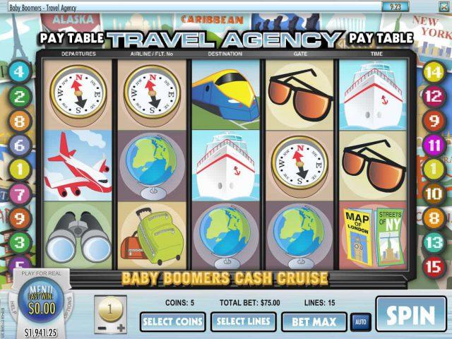 Слот Baby Boomers Cash Cruise в клубе Азино777