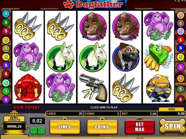 Слот Dogfather на официальном сайте казино Вулкан Чемпион