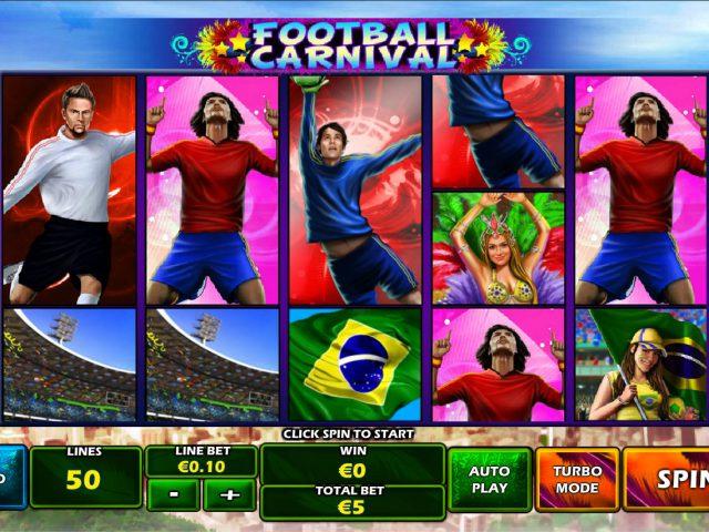 Игровой автомат Football Carnival в казино Вулкан