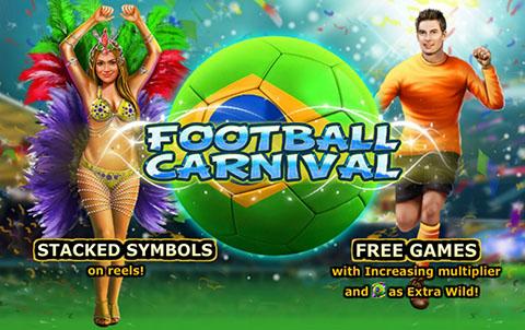 Игровой автомат Football Carnival в казино Вулкан Россия — Обзор