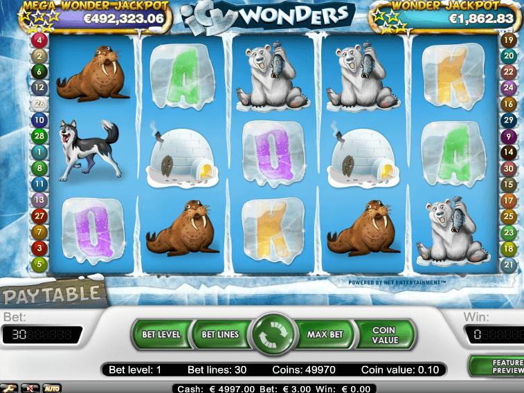 Слот Icy Wonders в игровом клубе Вулкан 24