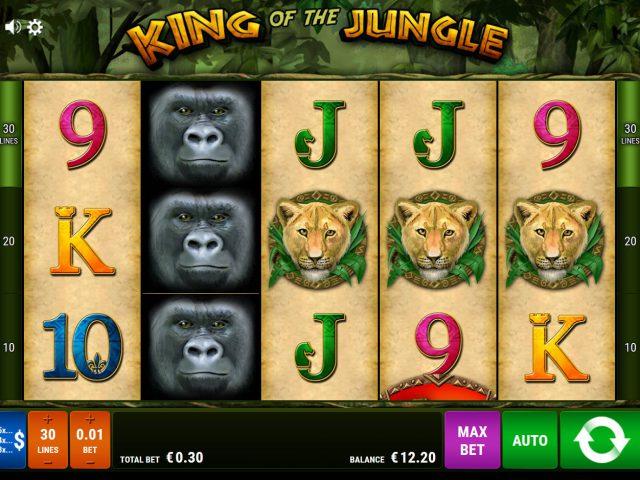 Слот King of the Jungle на сайте онлайн клуба Вулкан 24