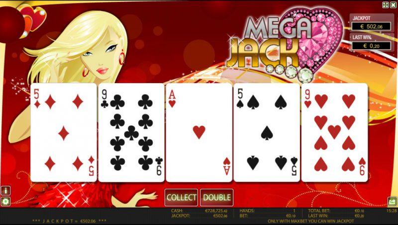 Азартные игры MegaJack
