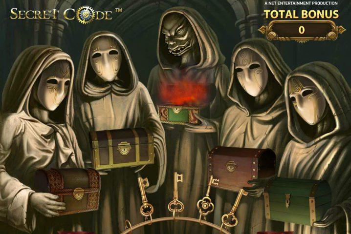 Бонусная игра в онлайн автомате Secret Code