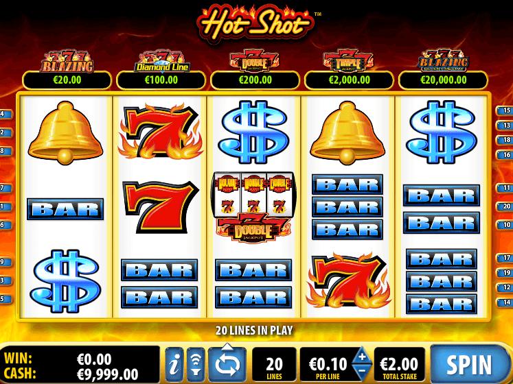Слот Hot Shot в казино Вулкан Россия