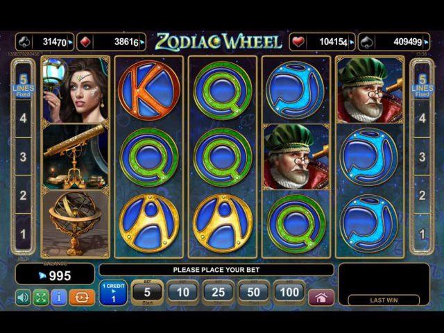 Cлот Zodiac Wheel в онлайн-казино Вулкан