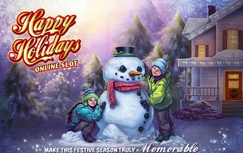 Игровой автомат Happy Holidays в Вулкан Делюкс сошел с ума. Игроки гребут деньги лопатой