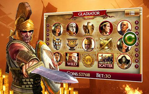 Бои древнего Рима в игровом слотеказино Вулкан — Gladiator Wars