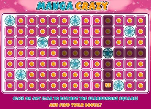 Изображение игры в слот Manga Crazy