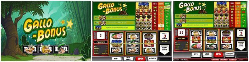 Gallo Bonus лучший бесплатный игровой автомат