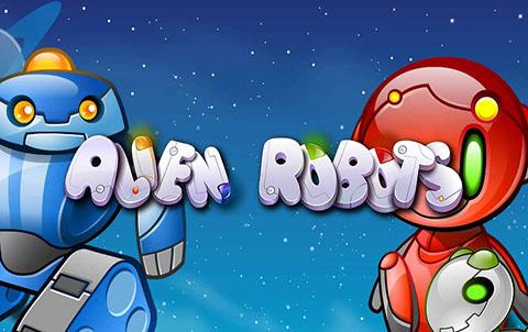 Играть онлайн на сайте Вулкан Платинум в автомат Alien Robots