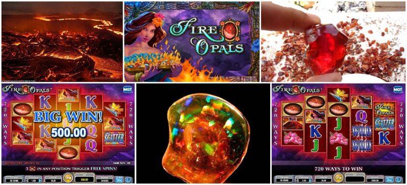 Fire Opals в казино Вулкан Делюкс онлайн